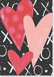 Valentine's Day Card: Happy Valentine's Day with love and hugs!