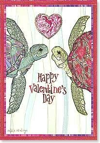Valentine's Day Card: I turtley love you!