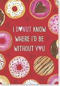 Valentine's Day Card: I'm sweet on you! Happy Valentine's Day
