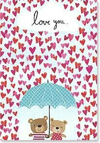 Valentine's Day Card: Rain or shine, I'll always be your Valentine!