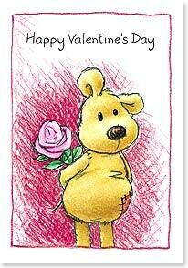 Valentine's Day Card: I could just hug the stuffing out of you!