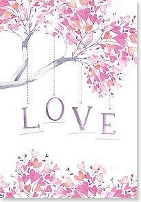 Valentine's Day Card: LOVE YOU Happy Valentine's Day