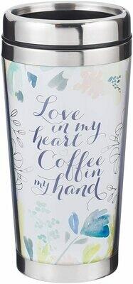 Mug Polymer Mug Love & Coffee, 16 Oz