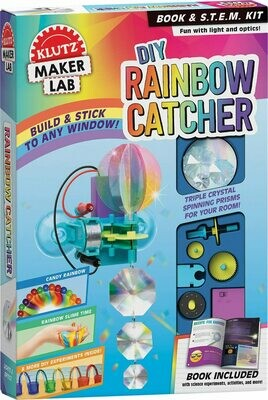 Klutz DIY Rainbow Catcher: Maker Lab STEM Kit