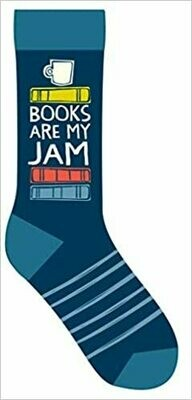 Books Are My Jam Socks