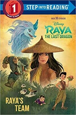 Raya's Team (Disney Raya and the Last Dragon) (Step into Reading) Paperback