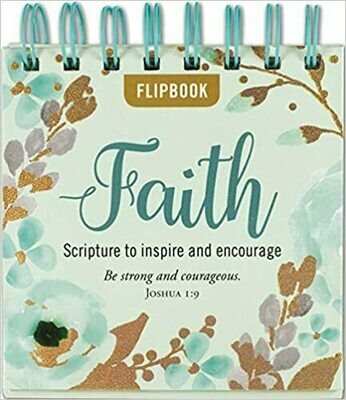 Faith Desktop Flipbook (Hardcover)