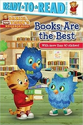 Books Are the Best (Daniel Tiger's Neighborhood) Paperback – by Maggie Testa