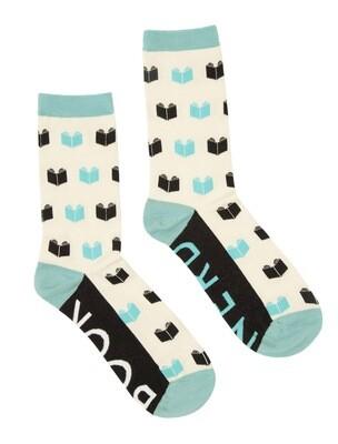 Book Nerd Socks Small
