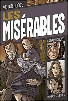 Les Misérables: A Graphic Novel (Classic Fiction) Paperback – by Luciano Saracino