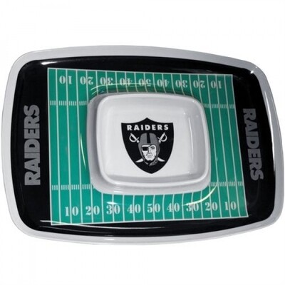 Raiders Chip N Dip Tray