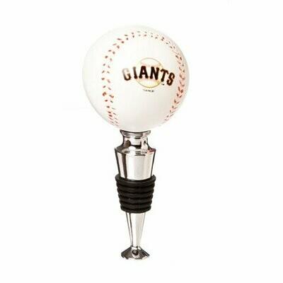San Francisco Giants Baseball Bottle Stopper