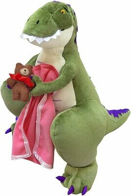 How Do Dinosaurs Say Good Night? Plush Doll, 14-Inch