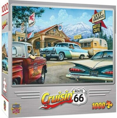 On the Road Again ( Crusin' Route 66 1000pc )
