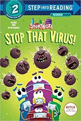 Stop That Virus! (StoryBots) (Step into Reading) Paperback - by Scott Emmons