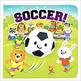 Soccer! (Children's Interactive Finger Puppet Board Book) - by Brick Puffinton