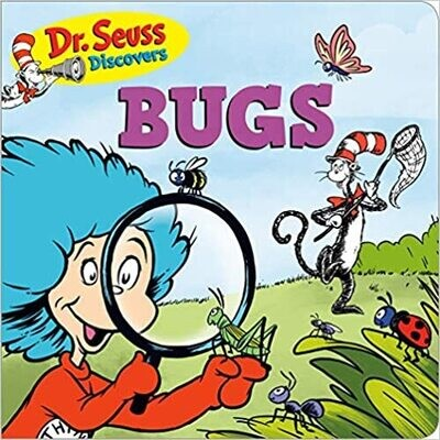 Dr. Seuss Discovers: Bugs Board book – by Dr. Seuss