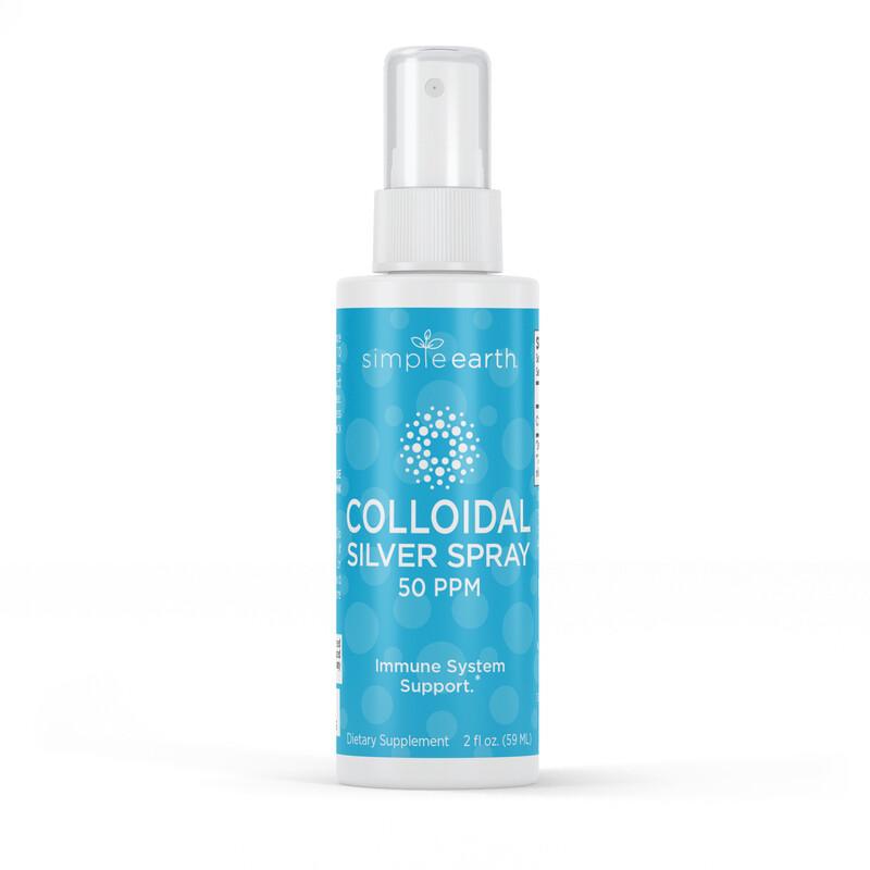 Colloidal Silver Throat Spray  50 PPM - 2 Fl oz.