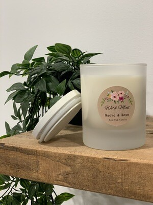 'Wild Mint' M&R Jar Candle
