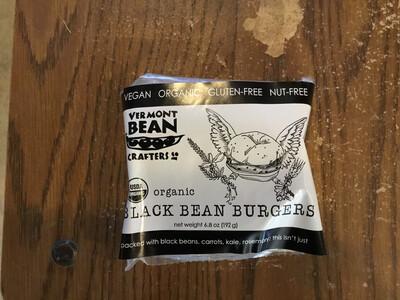 VT Bean Crafters Black Bean Burgers - 2 pack