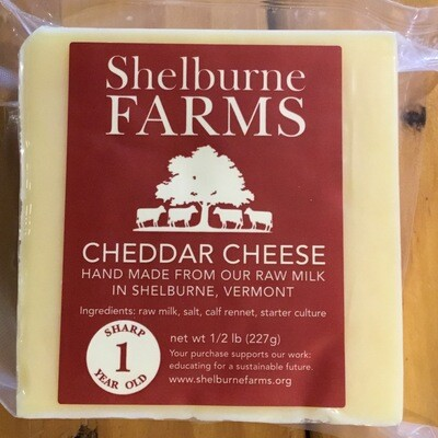 Cheese - Cheddar 1yr (Shelburne Farms)
