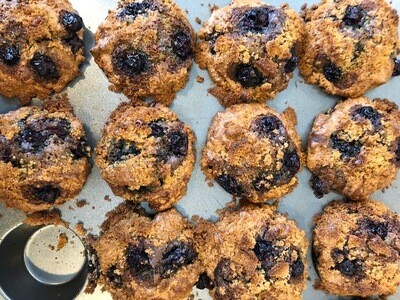 Blueberry Muffins (Grain Free) - Curbside