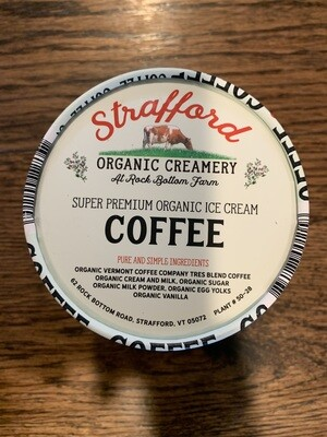 Ice Cream - Coffee - pint (Strafford Organic Creamery)