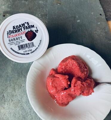 Sorbet - Strawberry (Adam's Berry Farm)