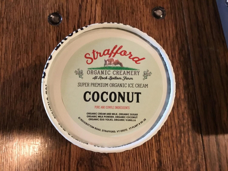 Ice Cream - Coconut - Strafford Organic Creamery
