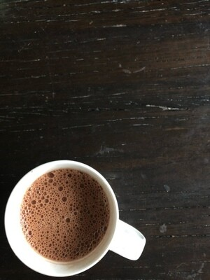 **NEW** - 100% Cacao Performance Hot Chocolate 12oz - Curbside