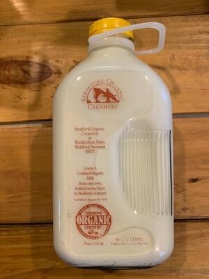Milk - 2% 1/2 Gal (Strafford Organic Creamery)
