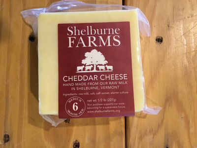 Cheese - Cheddar 6mo (Shelburne Farms)