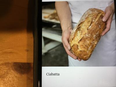 Bread - Ciabatta (Red Hen Bakery)