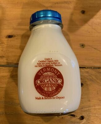 Half & Half - Pint (Strafford Organic Creamery)