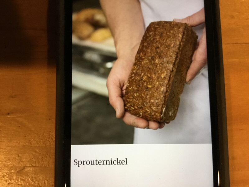 Bread - Sprouternickel (Red Hen Bakery)