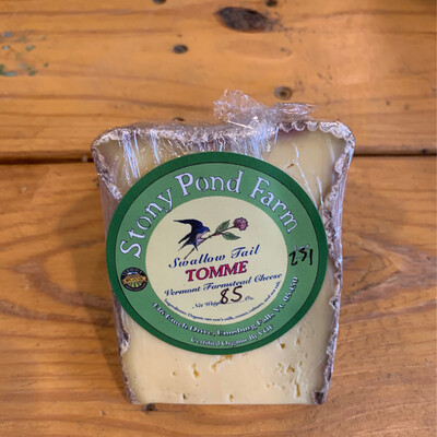 Cheese - Swallow Tail Tomme (Stony Pond Farm)