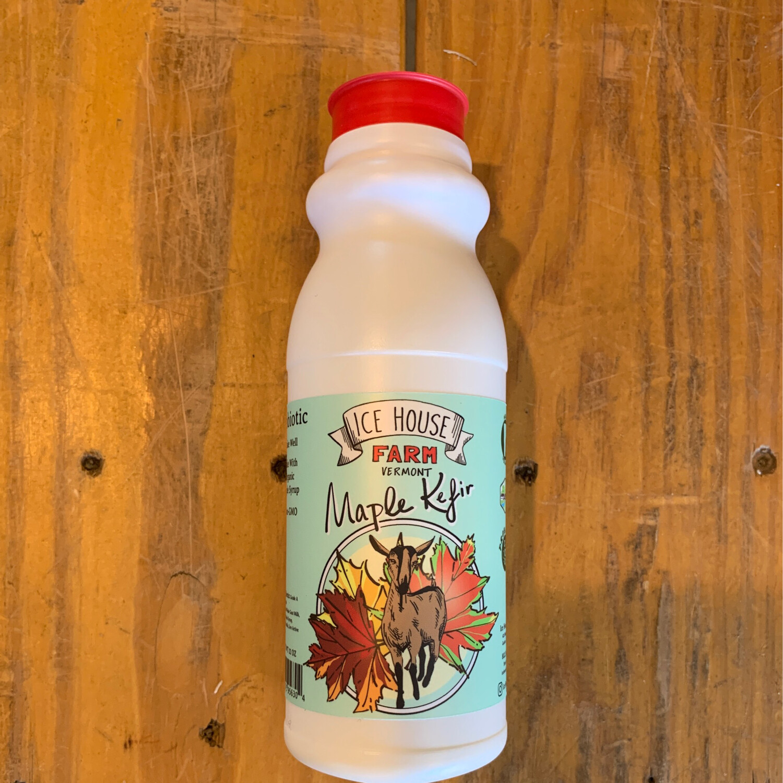 Maple Kefir - 12oz (Ice House Farm)
