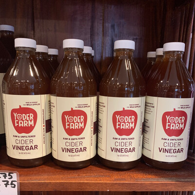 Vinegar - Pint (Yoder Farm)
