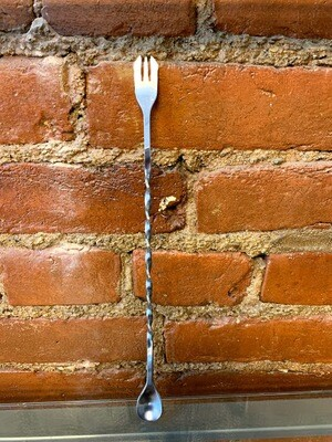 Trident™: Cocktail Spoon  Stainless steel