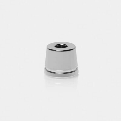 White Chrome Inkwell Razor Stand