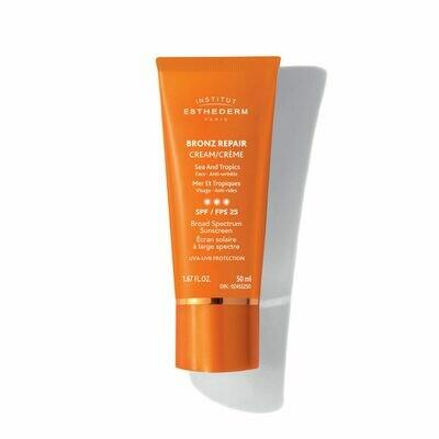 Bronz repair crème 3 soleils anti-ride visage – fps 25 50ml
