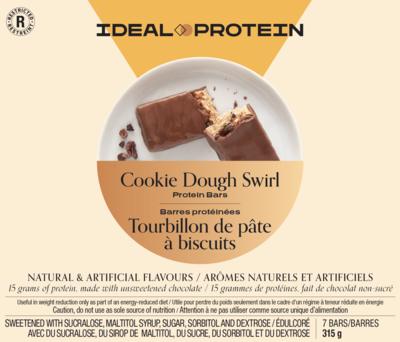 Barre tourbillon de pâte à biscuit (7)