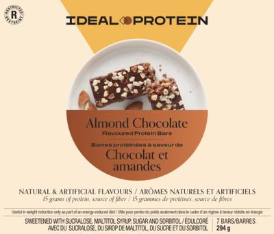 Barre à saveur de chocolat au lait et d'amandes (7)