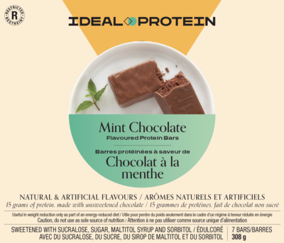Barre chocolat à saveur de menthe (7)