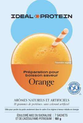 Préparation pour boisson à saveur d'orange (7)