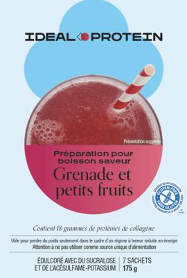 Préparation pour boisson à saveur de bleuets, canneberges et grenades (7)