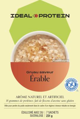 Préparation pour gruau à saveur d'érable (7)