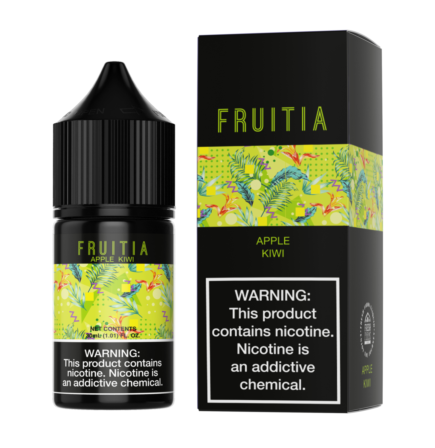 Fruitia - Apple Kiwi - 30ml - 50mg