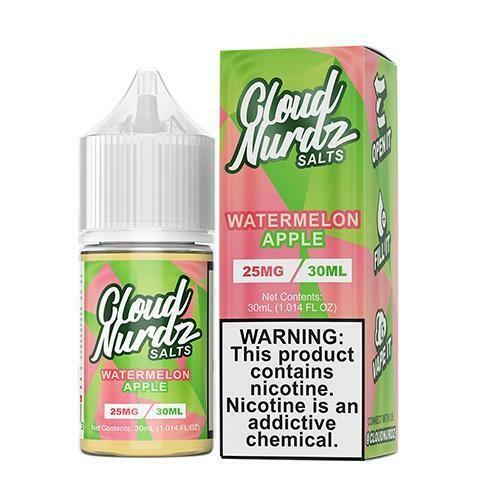 Cloud Nurdz - Watermelon Apple - 30ML - 50 MG