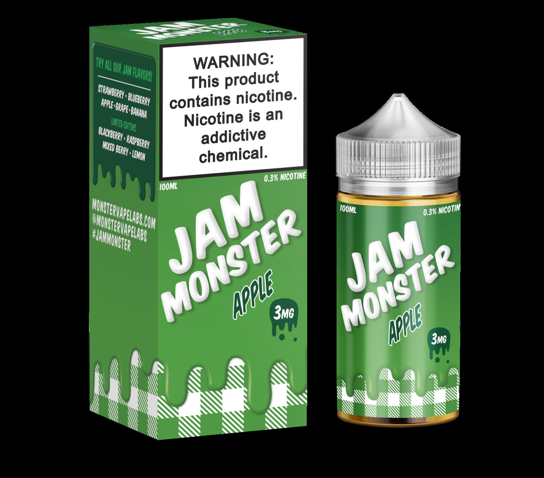 Jam Monster - Apple - 100ML - 3 MG